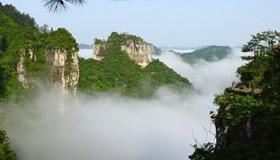 走进世界自然遗产保护地施秉云台山